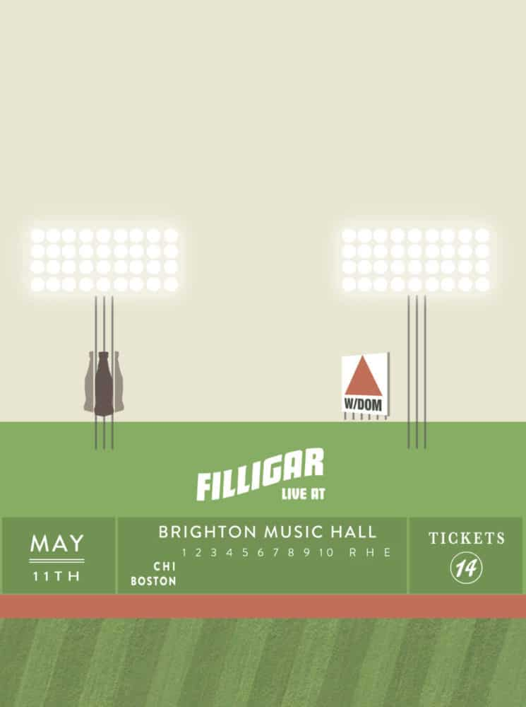 Brighton Music Hall + Filligar