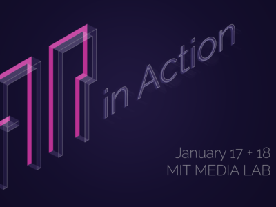 Speaking at MIT Media Lab for AR in Action